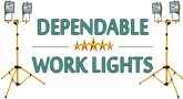 Dependable Work Lights